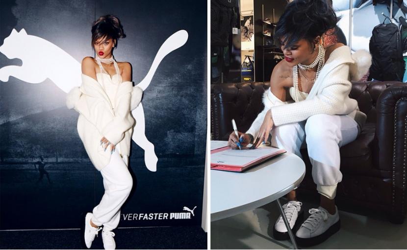Rihanna es la nueva directora creativa de Puma