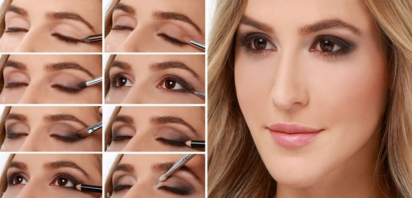 Maquillaje Smokey-eyes tutorial