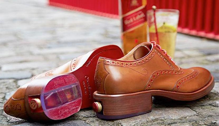 Zapato Johnnie Walker