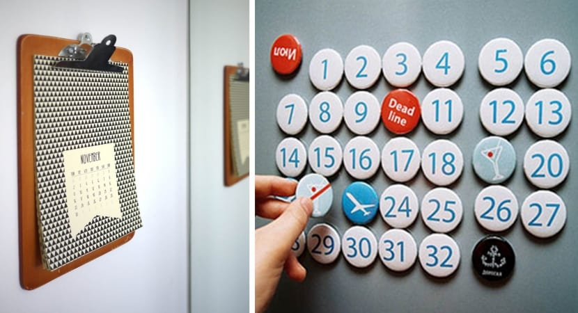 Calendarios DIY creativos