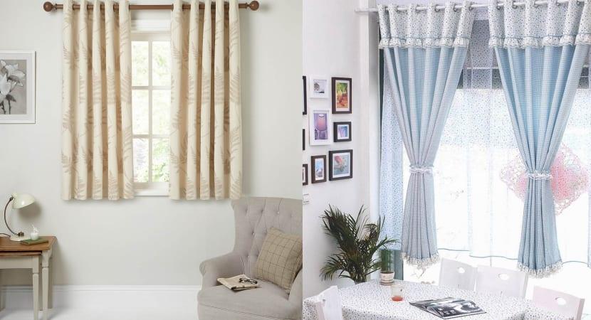 Complementos y muebles en chenilla renovada - Visillos para salones ...