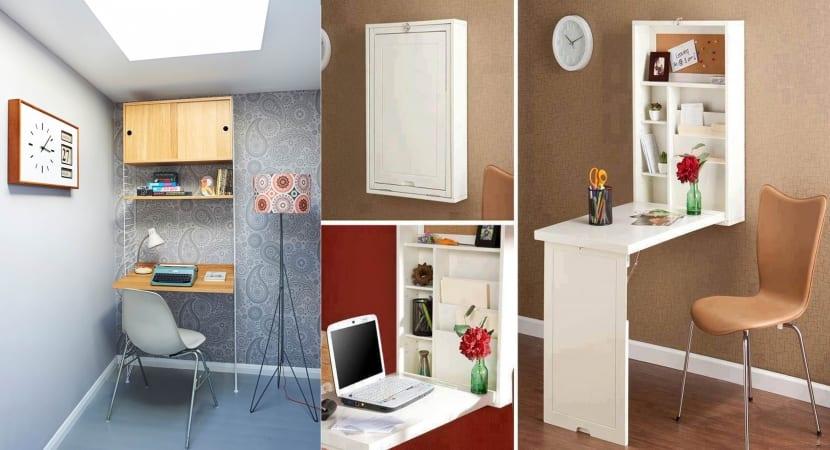 Mobiliario que solventa el espacio que nos falta Mobiliario para espacios reducidos