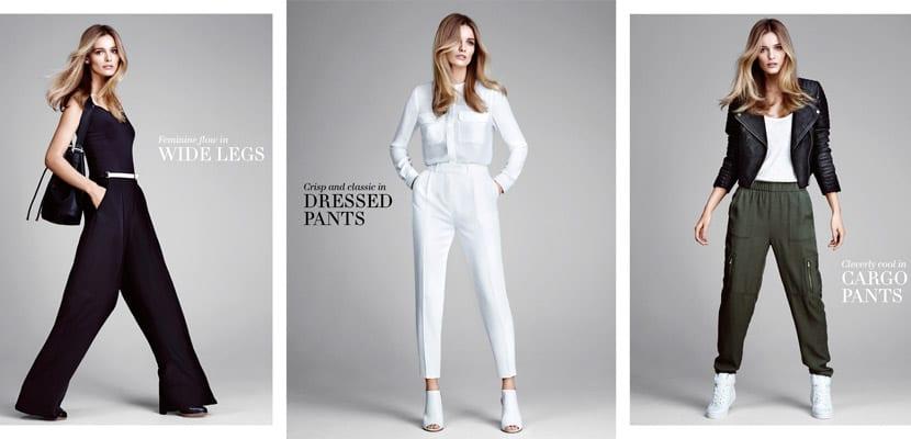 H&M pantalones de moda