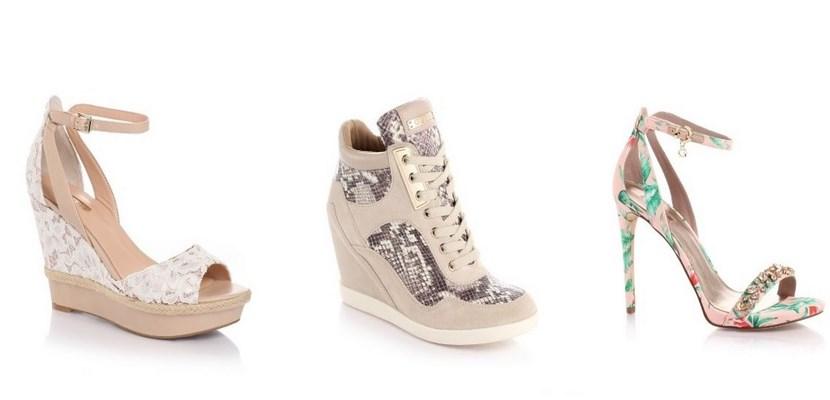 Mujer Guess De Tacon Guess Zapatos zapato IWED29H