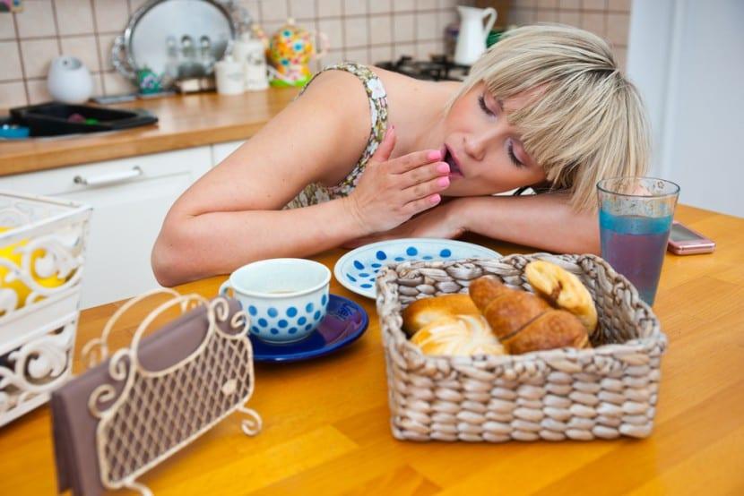Sueño después comer