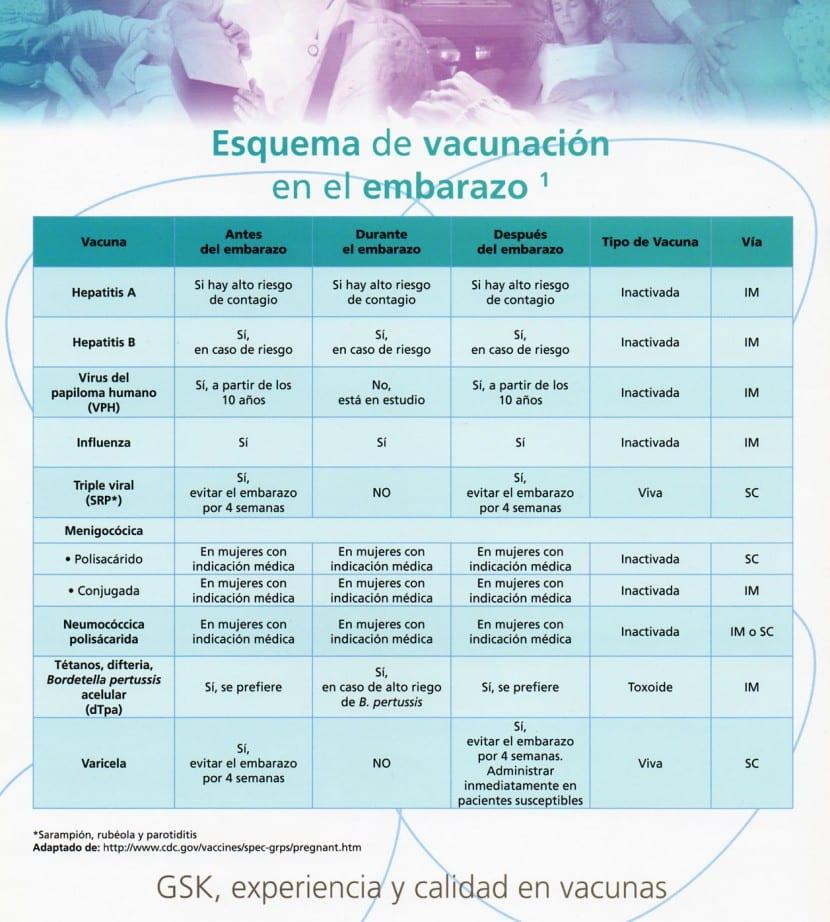 Vacunas durante el embarazo