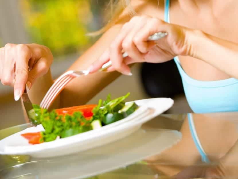 alimentos hacer dieta
