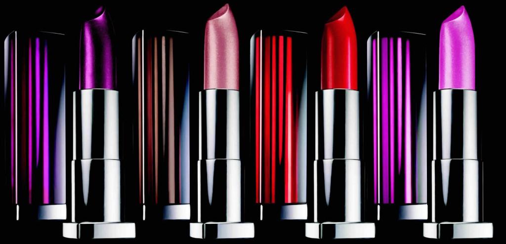 barra de labios colores