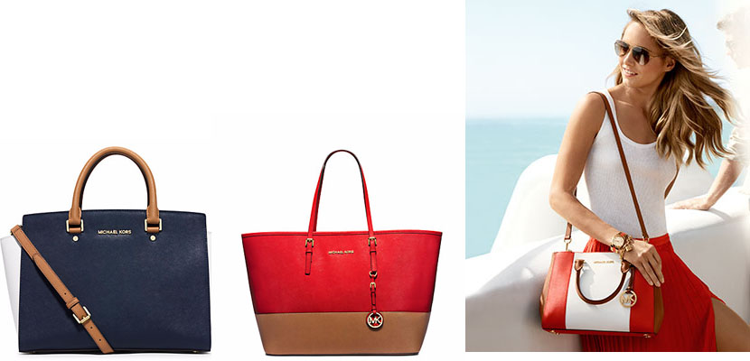 Bolsos color-block Michael Kors