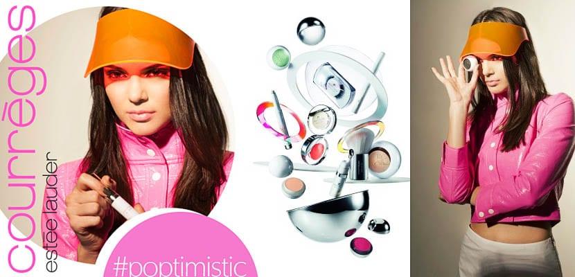 Kendall Jenner imagen de Estée Lauder