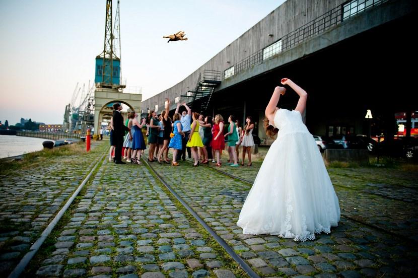 Lanzar ramo de novia