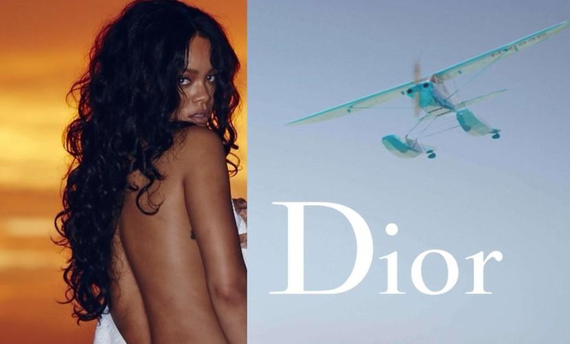 Rihanna es la nueva imagen de Dior