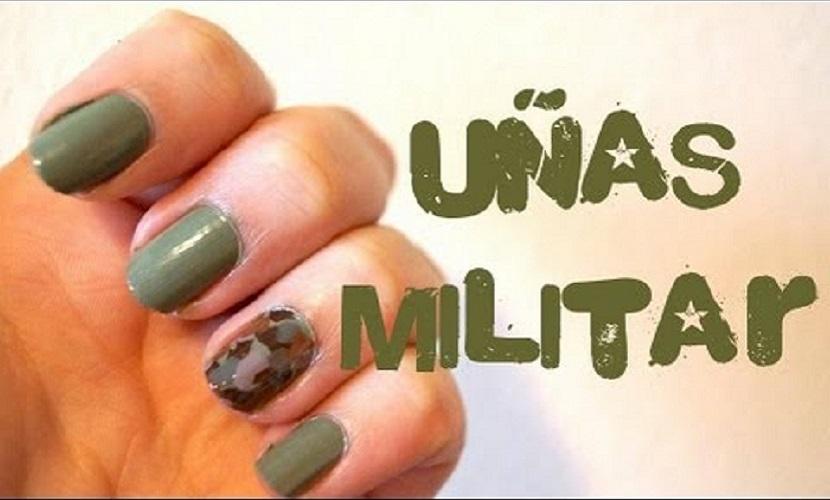 uñas militares