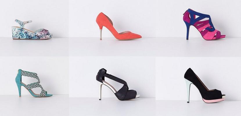 Colección zapatos de Blanco