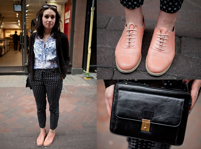 Zapatos de color