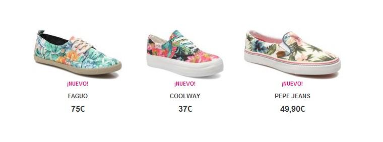 Zapatos coloridos Sarenza