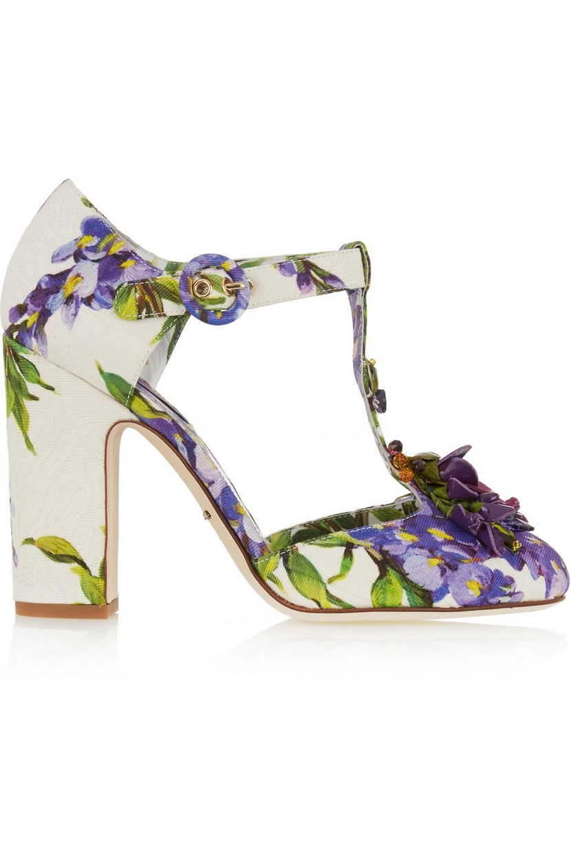 Zapatos florales