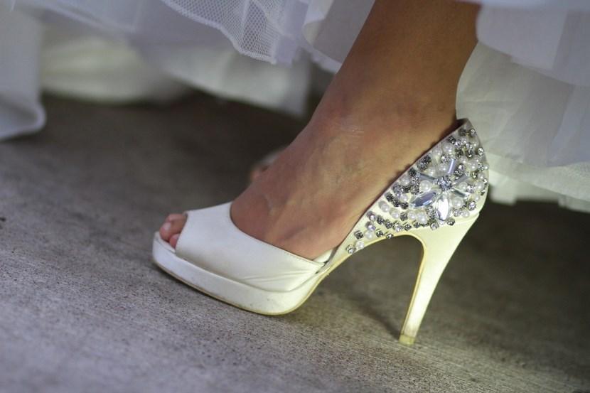 Zapatos con gemas