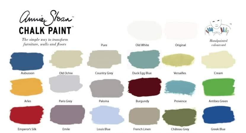 Annie-Sloan Colours