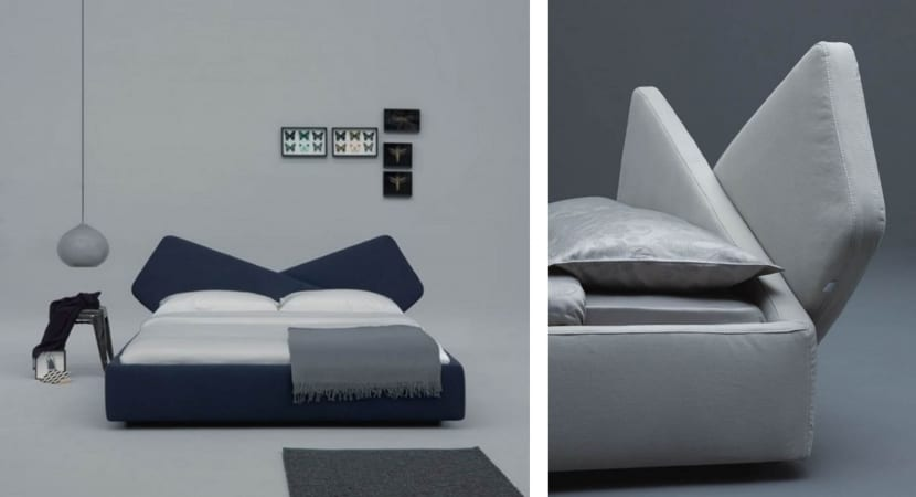 Ribbon bed by O. Fioravanti