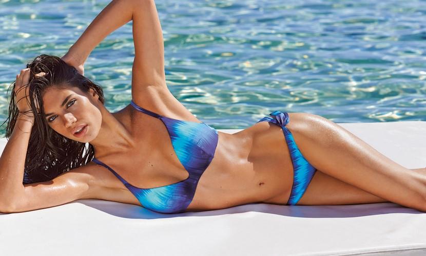 Bikini azul degradado
