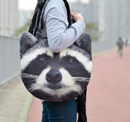 bolso mapache