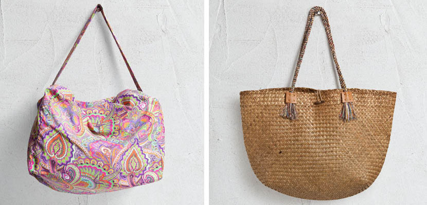 Bolsos de playa Zara Home