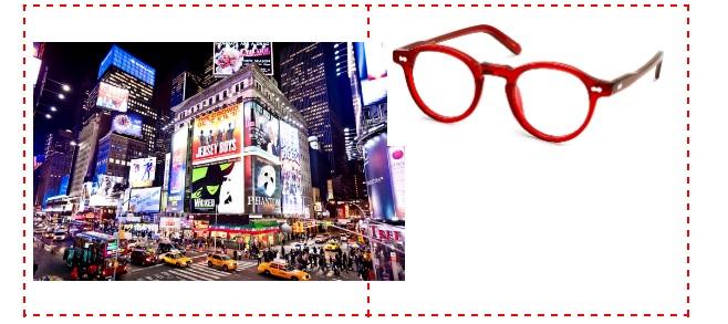 Gafas Baumvision para Nueva York