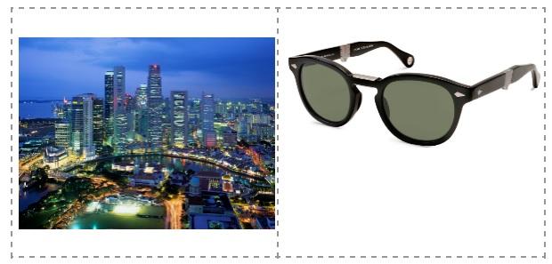 Gafas Baumvision para Singapur