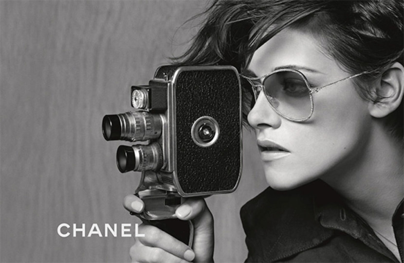 Kristen Stewart protagoniza la campaña de gafas de Chanel