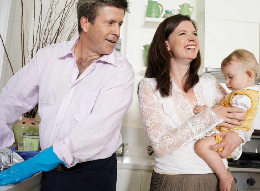 marido tareas hogar