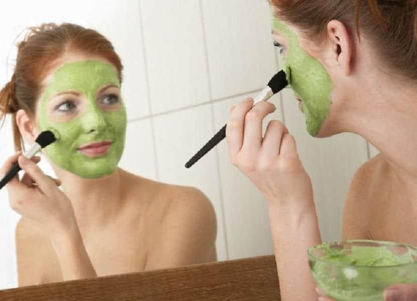 mascarilla facial piel grasa