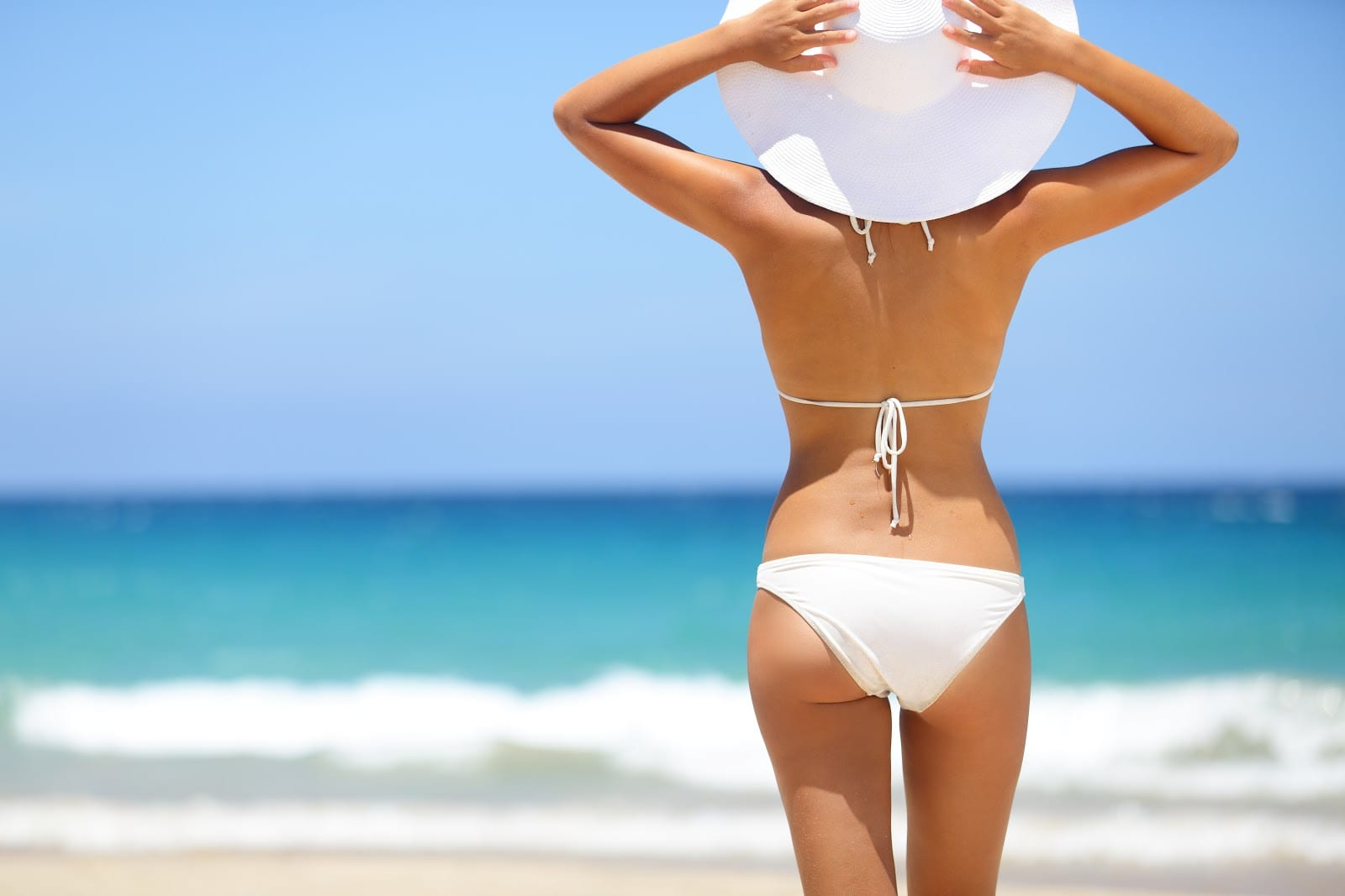 ponerse bikini
