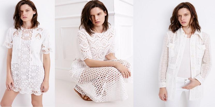 Moda Zara en color blanco