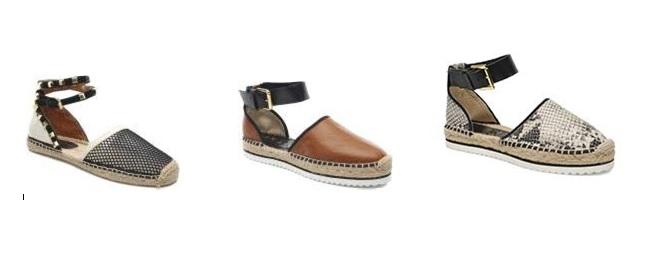 Sandalias alpargatas elegantes