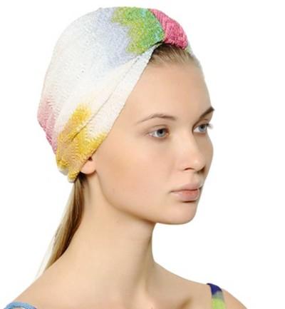 turbante de lurex