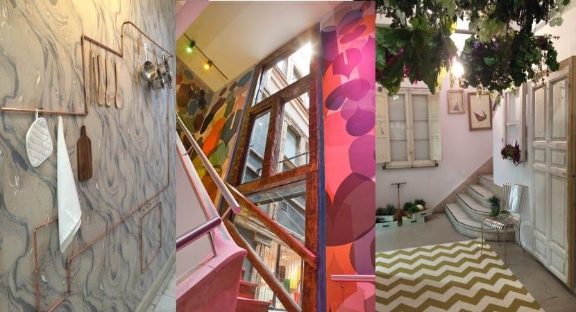 Decoracion de las escaleras CasaDecor 15