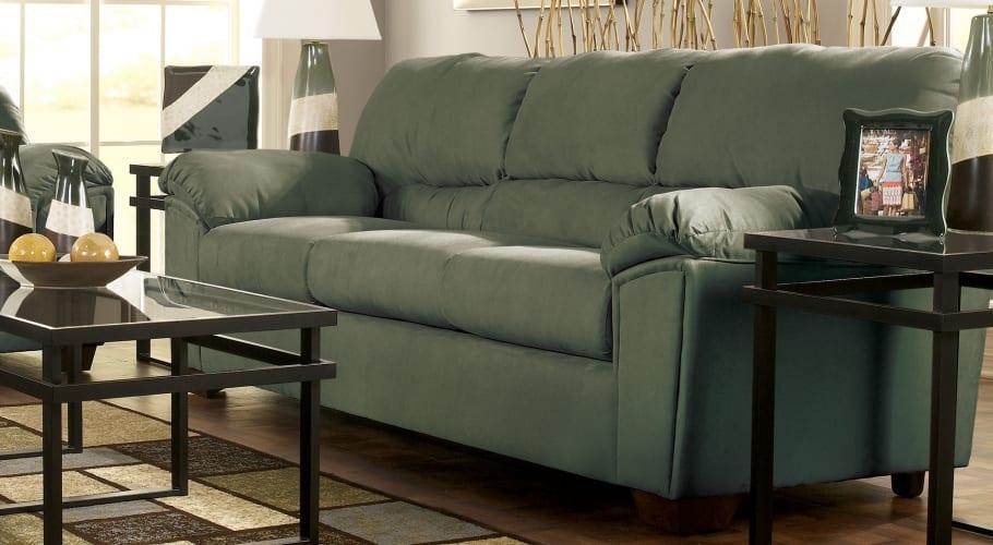 Sofa de respaldo alto