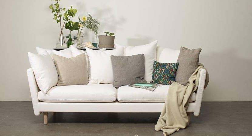 Sofa mod. Sofo con cojines