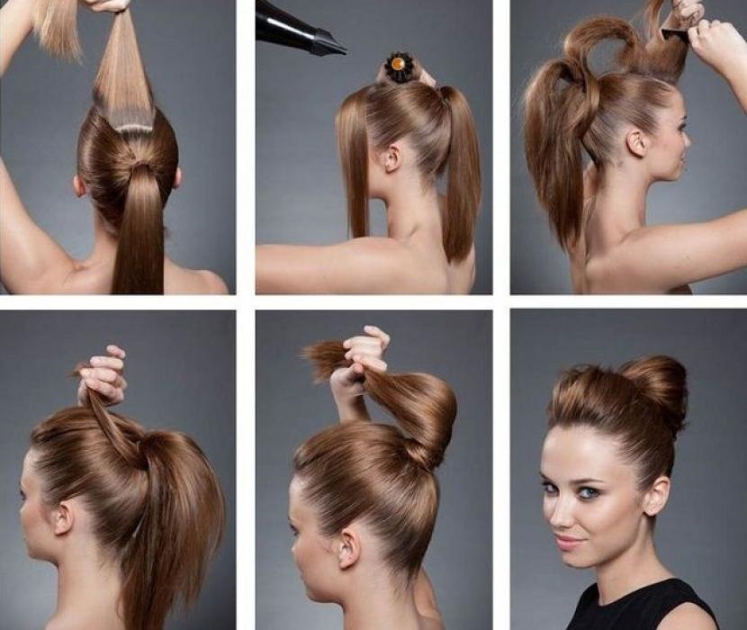 Peinado recogido de fiesta