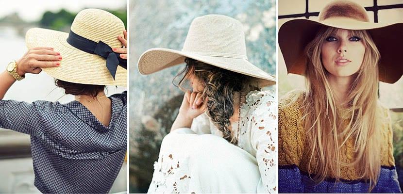 Peinados con sombrero