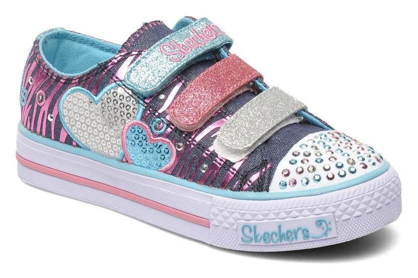 Zapatillas Skechers con brillos