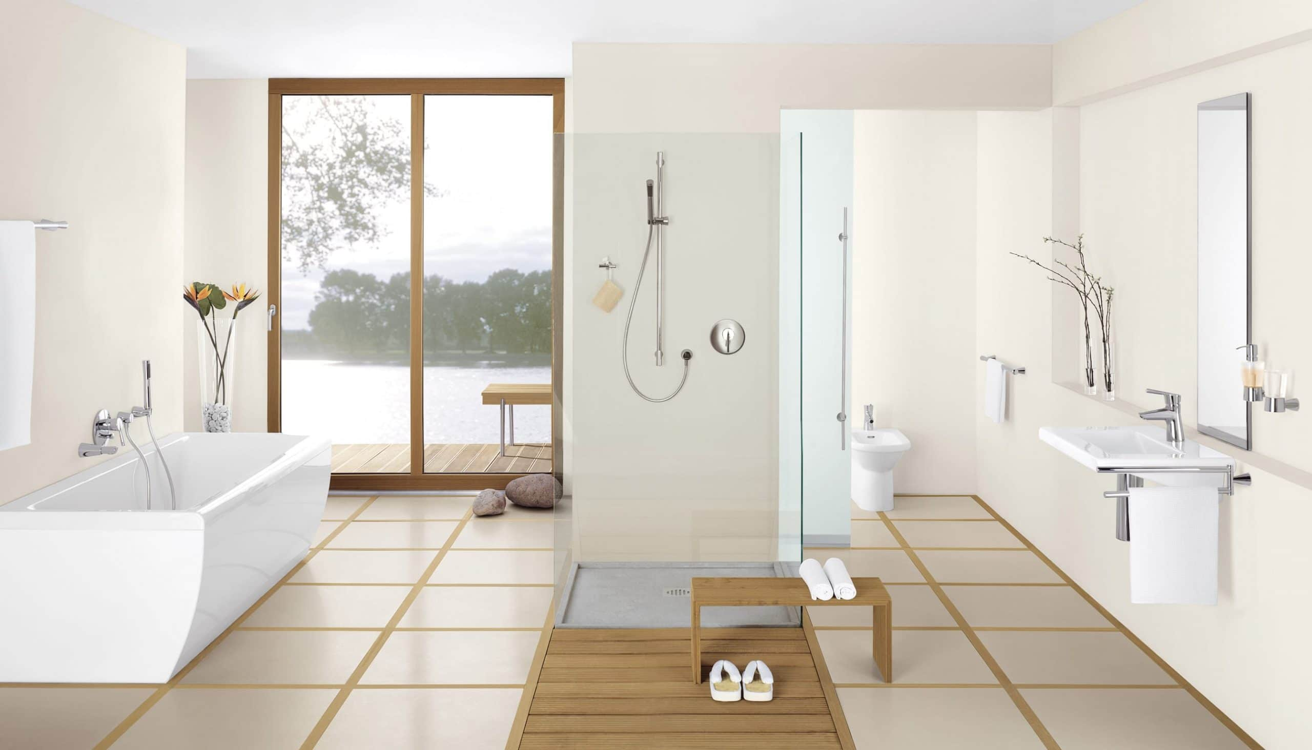 traditional and contemporary bathrooms caracter 237 sticas de un ba 241 o de lujo 21004