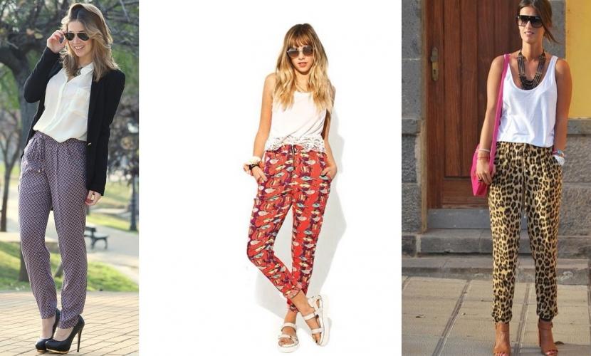 Pantalones de tela para verano