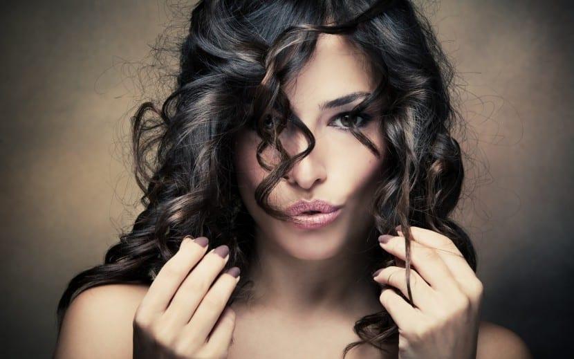 peinado con raya