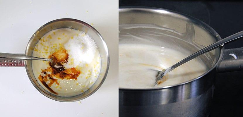 Tarta de yogur y moras