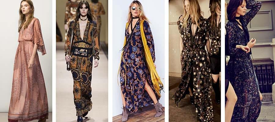Vestidos bohemios largos