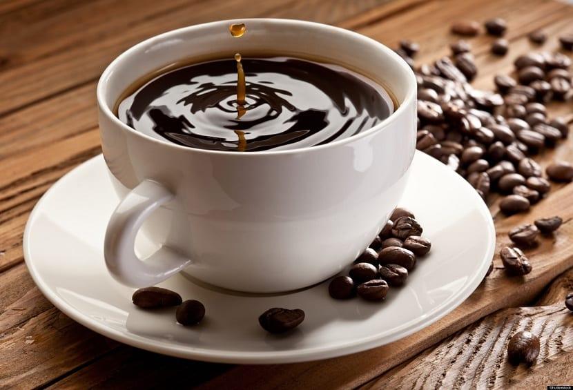 alimentos que contiene cafeína