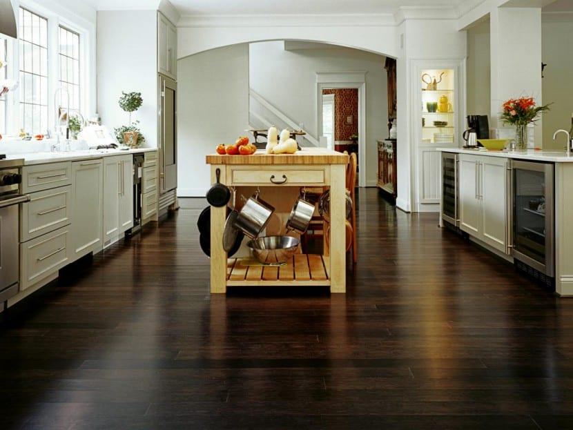 diferentes suelos para la cocina