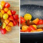 Berenjenas con tomate y mozzarrella